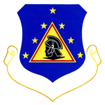 Coat of arms (crest) of the 3503rd USAF Recruiting Group, US Air Force
