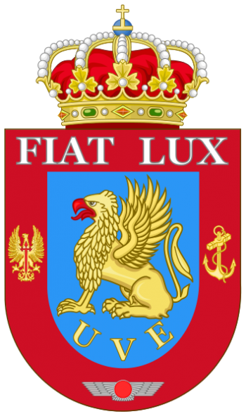 Coat of arms (crest) of the Spanish Armed Forces Verification Unit, Spain
