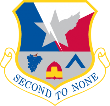 Coat of arms (crest) of the 136th Airlift Wing, Texas Air National Guard