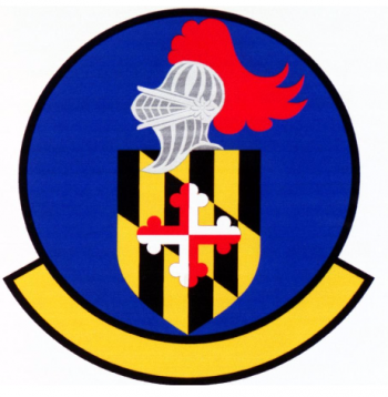 Coat of arms (crest) of the 175th Logistics Squadron, US Air Force
