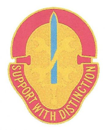 Arms of 521st Maintenance Battalion, US Army