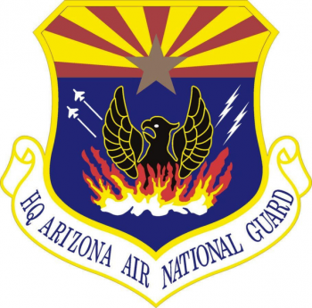 Coat of arms (crest) of the Arizona Air National Guard, US