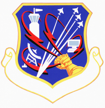 Coat of arms (crest) of the 1920th Communications Group, US Air Force