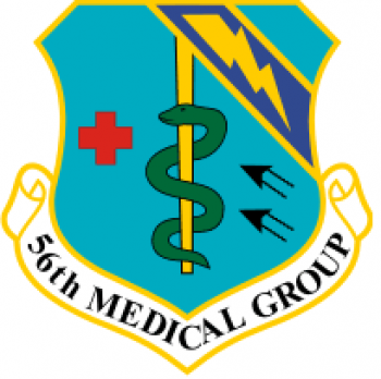 Coat of arms (crest) of the 56th Medical Group, US Air Force