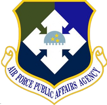 Coat of arms (crest) of the Air Force Public Affairs Agency, US Air Force