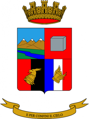 Coat of arms (crest) of the 7th Signal Regiment, Italian Army