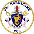 Coastal Patrol Ship USS Hurricane (PC-3).png