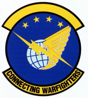 Coat of arms (crest) of the Pacific Air Forces Computer Systems Squadron, US Air Force