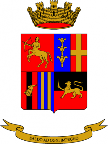 Coat of arms (crest) of the 231st Signal Battalion Sempione, Italian Army