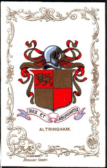 Arms (crest) of Altrincham