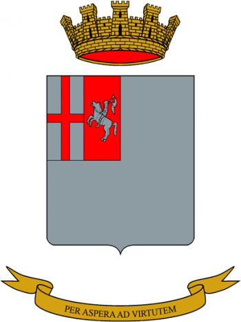 Coat of arms (crest) of the Infantry Non-Commissioned Officer School, Italian Army