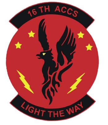 Arms of 16th Airborne Command and Control Squadron, US Air Force