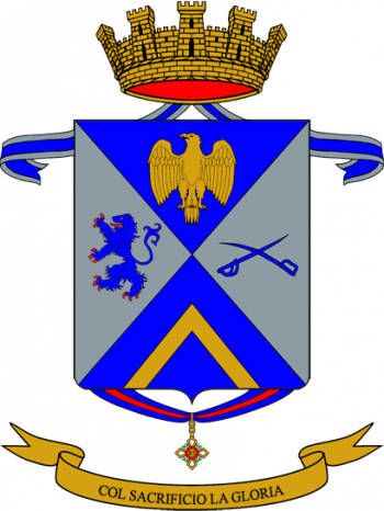 Coat of arms (crest) of the 33rd Infantry Regiment Livorno, Italian Army