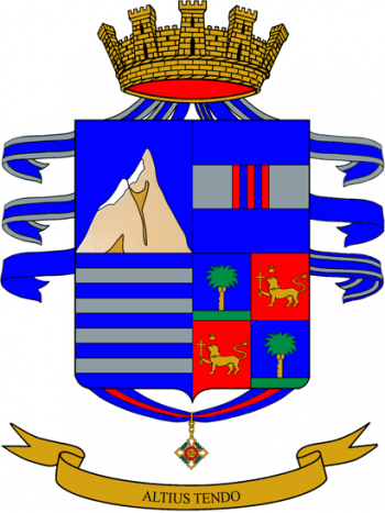Coat of arms (crest) of the 3rd Alpini Regiment, Italian Army