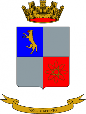 Coat of arms (crest) of the 8th Electronic Surveillance Battalion Tonale, Italian Army